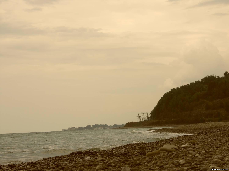 Волконка фото пляжа и поселками
